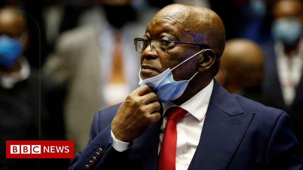 South Africa's ex-president Zuma placed on medical parole