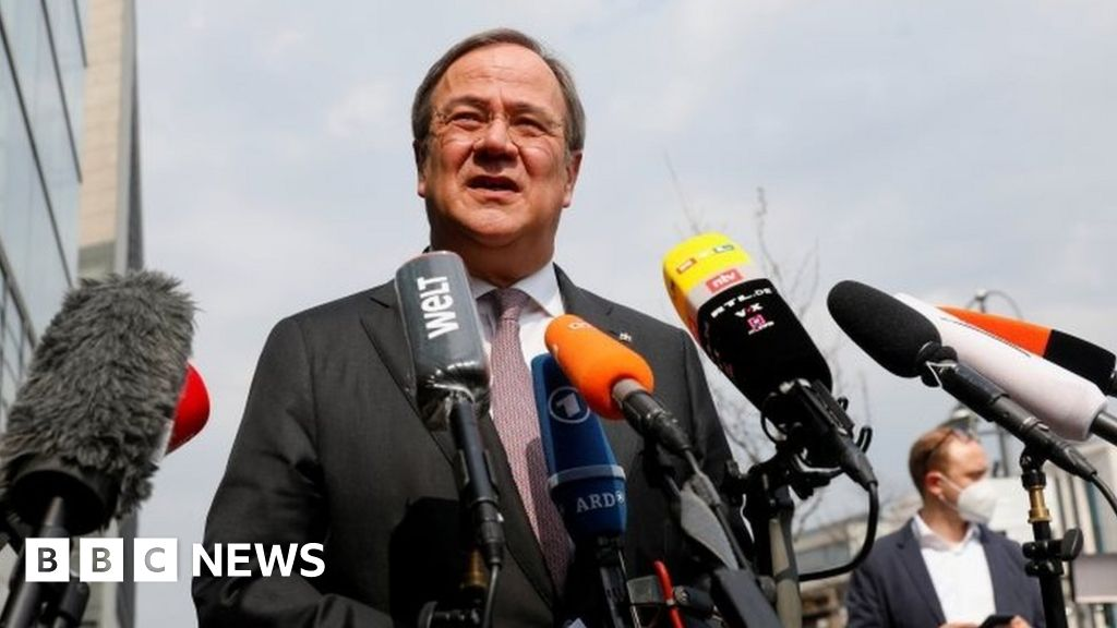 German Conservatives: Armin Laschet backed by Merkel parties in the chancellor race