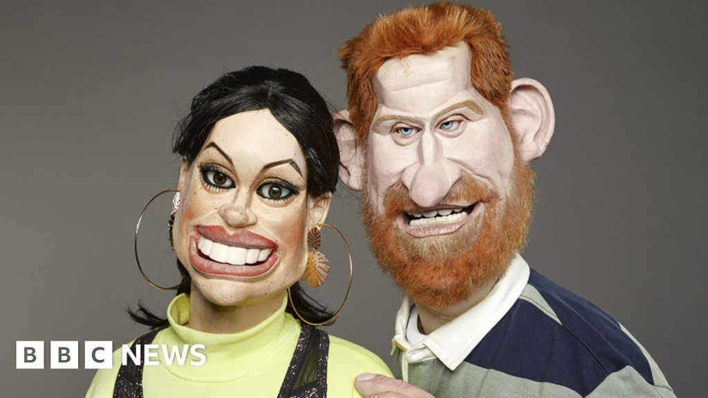 Spitting Image ended back on the BritBox, 24 years after the TV show