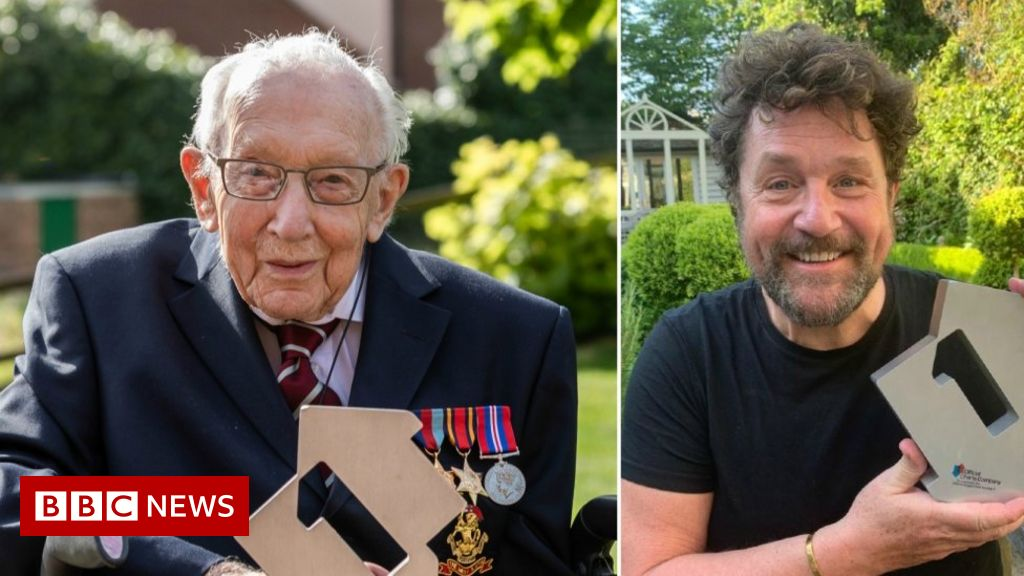 Captain Tom is the top of the charts at the age of 99 years