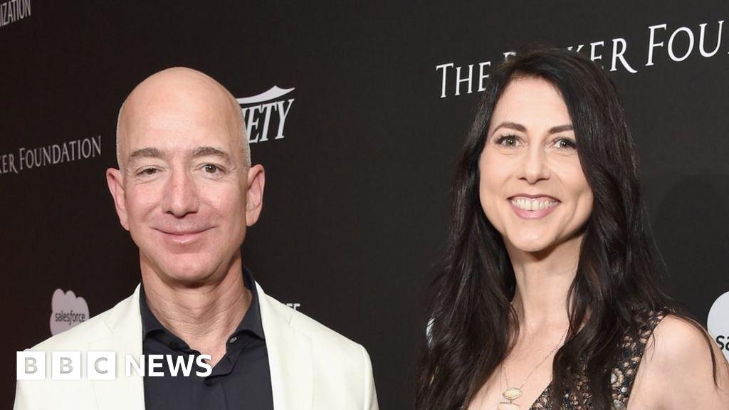 MacKenzie Bezos pledges to donate half her $37bn fortune - BBC News