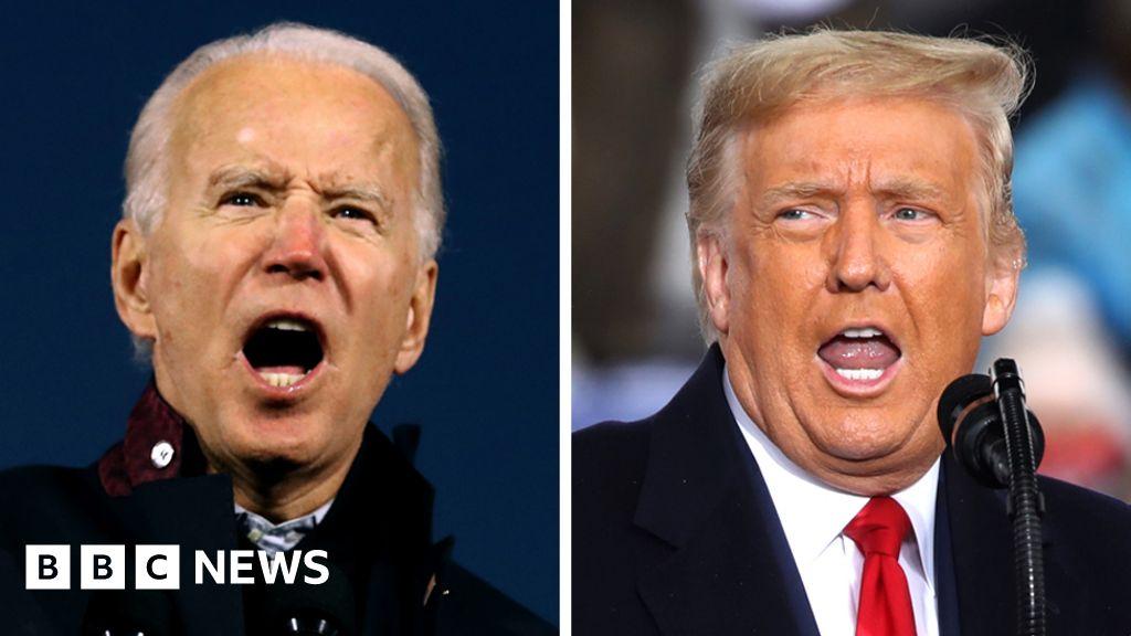 US election 2020: Fact-checking Trump and Biden's final week