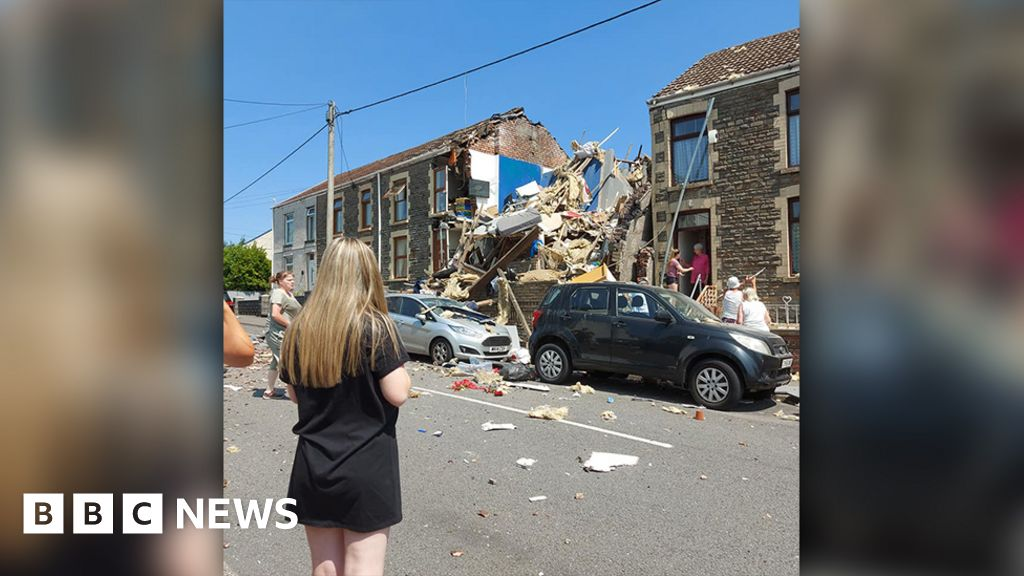 Gas explosion in the property of Seven sisters