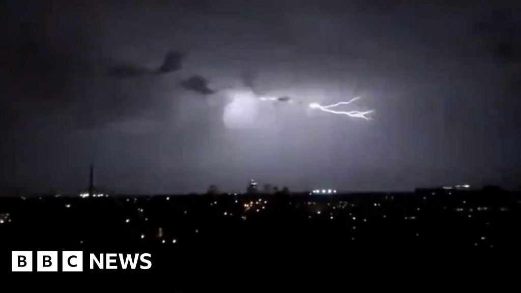 Sydney storm: 'Never seen a light show like it'