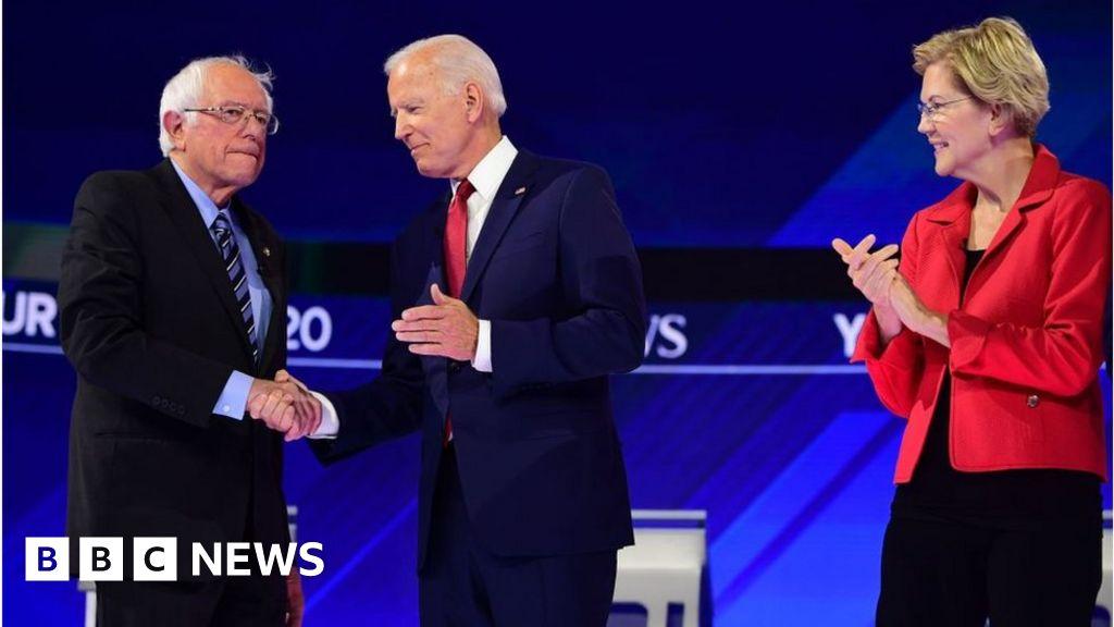 Democratic debate: Biden, Warren and Sanders spar over healthcare