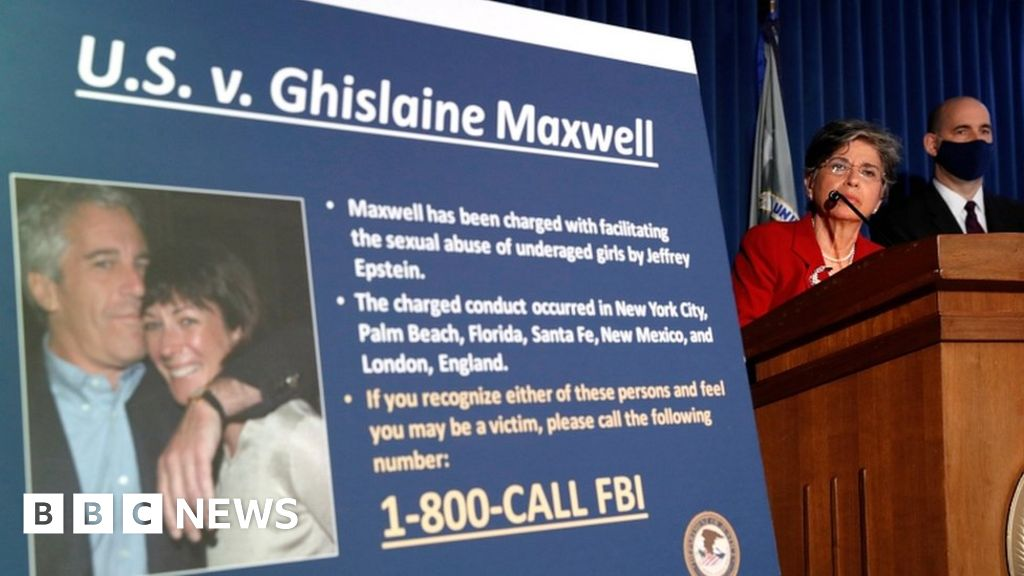 Ghislaine Maxwell due to appear at bail hearing - BBC News