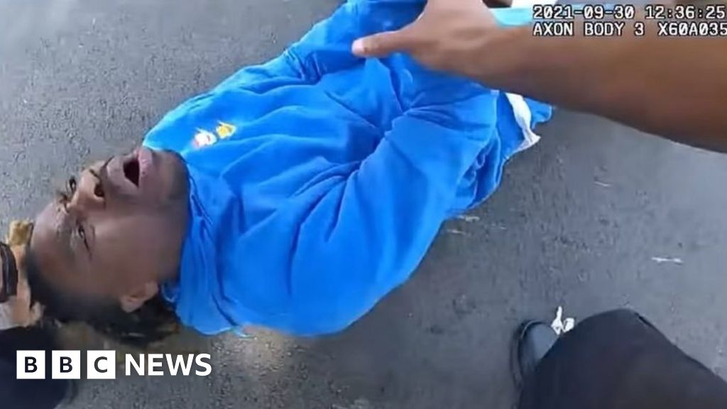 , Ohio police probed after man screaming 'I'm paraplegic' dragged from car, The World Live Breaking News Coverage & Updates IN ENGLISH