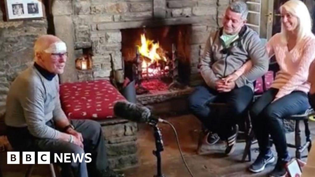 Missing Yorkshire Dales walker turns up at press conference