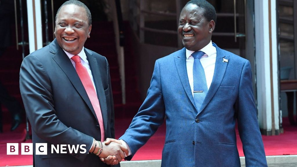 Letter from Africa: The handshake that left millions of