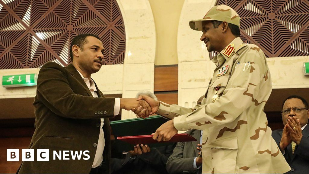 Sudan's military and opposition power-sharing deal explained