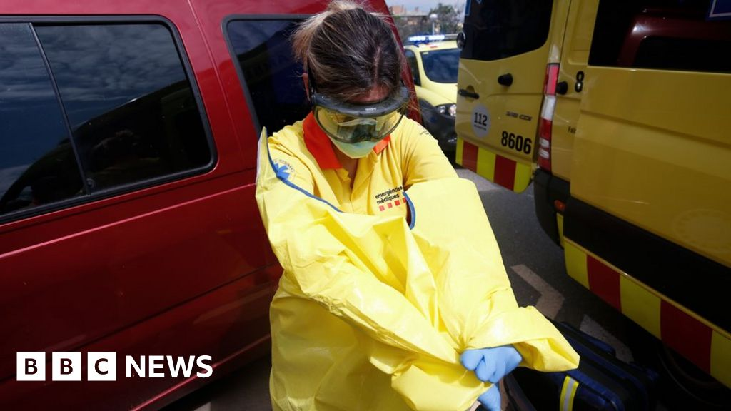 Coronavirus Spain: Catalonia locks down area of 210,000 people