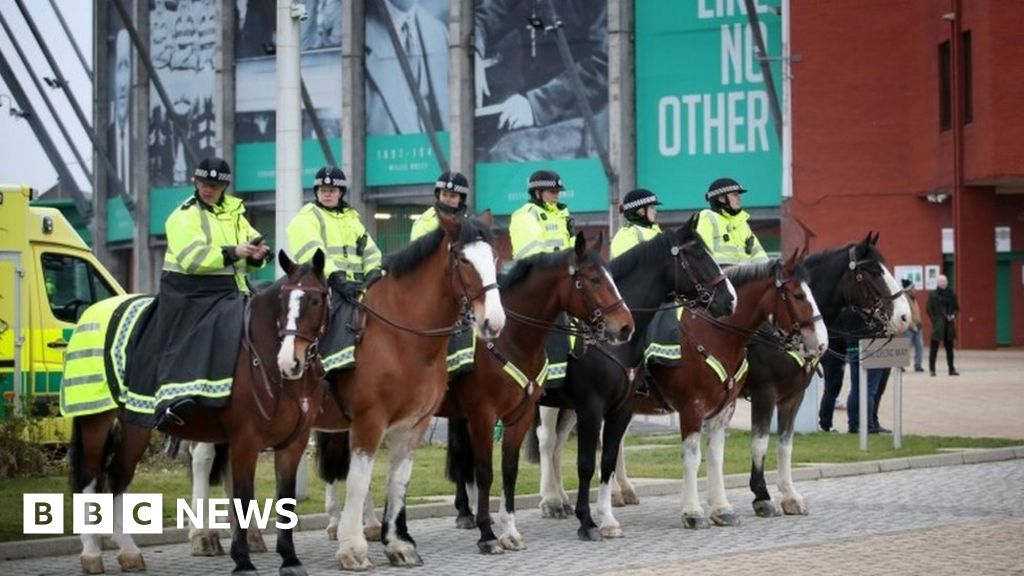 Football fan to face trial over police horse 'attacks' at Celtic Park