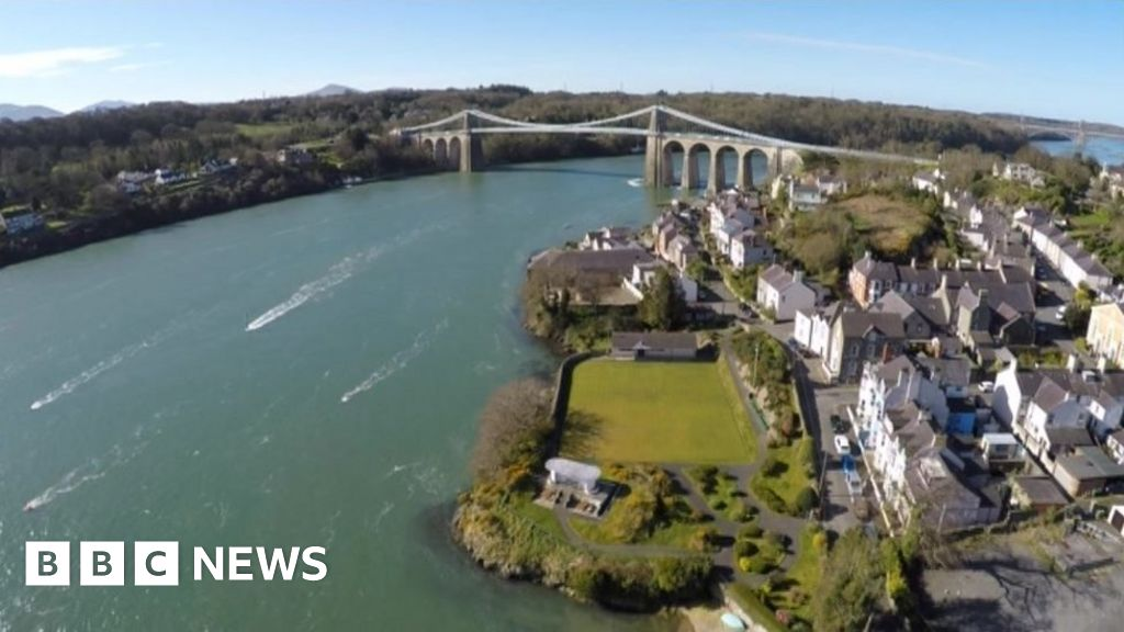 Woman dies after water bike and boat collision off Anglesey