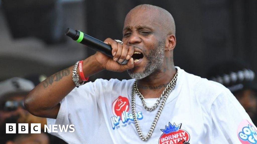 DMX, an American rap and actor, died at the age of 50