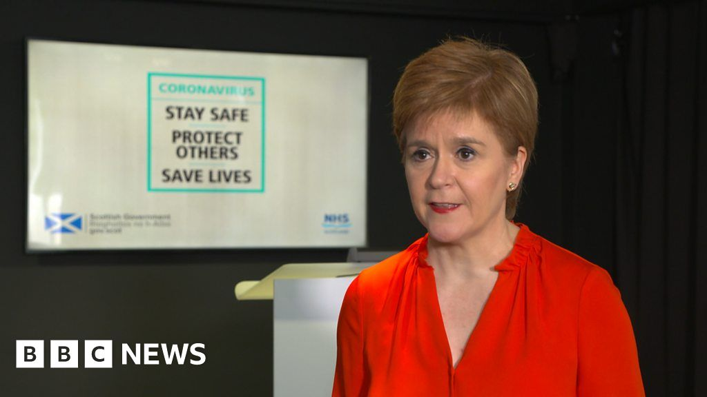 Nicola Sturgeon warns people not to visit lockdown areas of England thumbnail