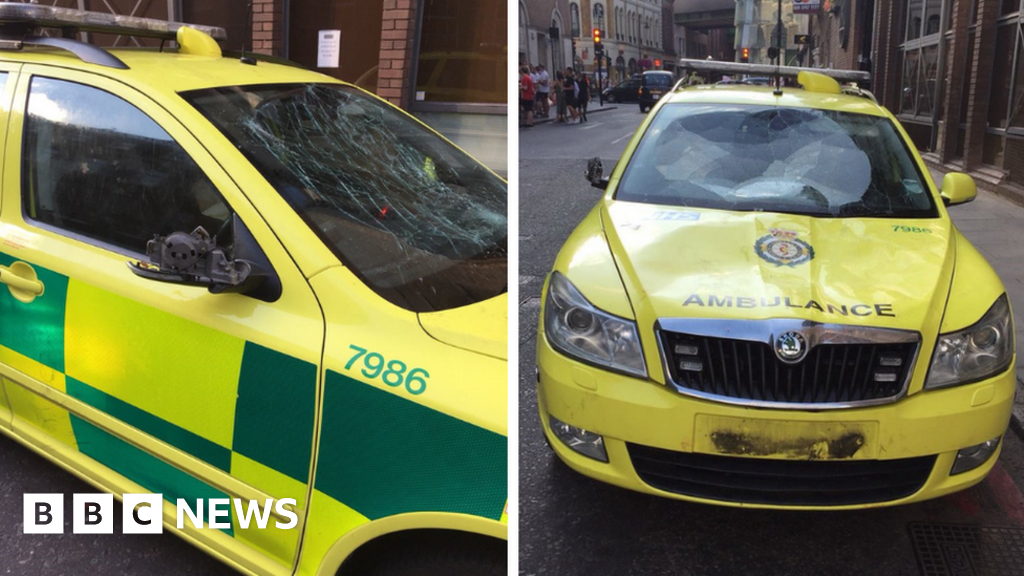 World Cup ambulance damage: Four people charged