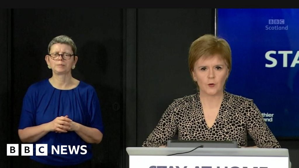 Coronavirus: Sturgeon says Scotland 'needs to get some normality back' thumbnail