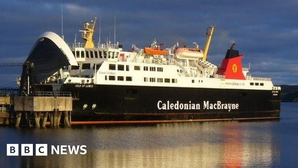 Oban-Barra ferry suspended after vehicle fire on board