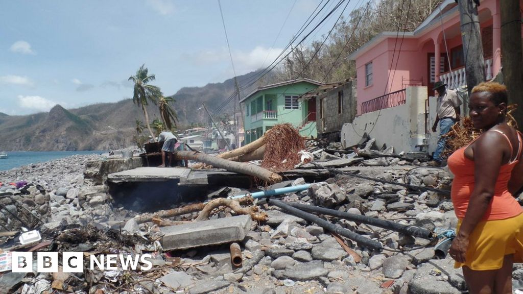 dominica grieving life after hurricane maria bbc news