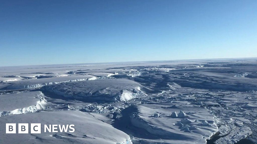Antarctica melting: Journey to the