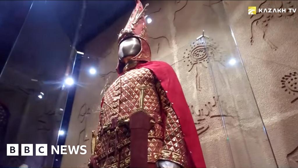 Kazakh 'Golden Man' to be reburied