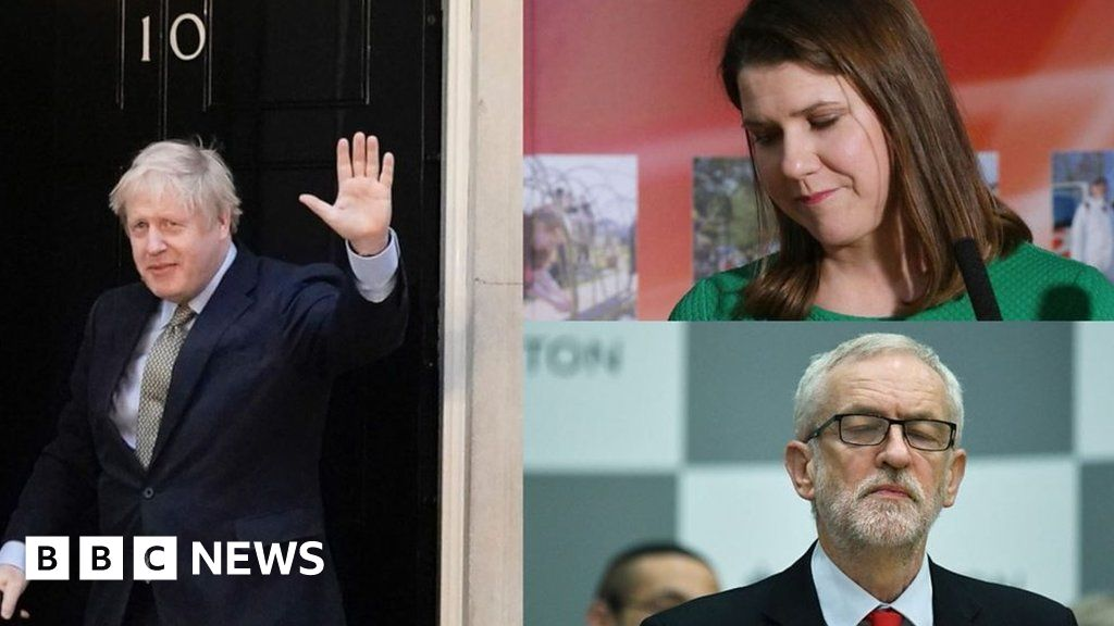 General Election 2019: Moments from results day