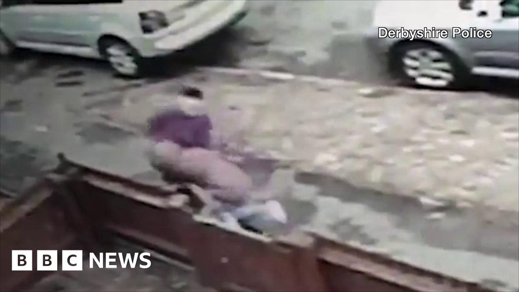 CCTV shows street attack on 12-year-old girl