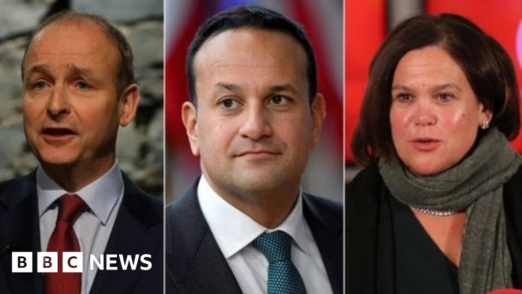 Irish election exit poll predicts three-party 'tie' thumbnail