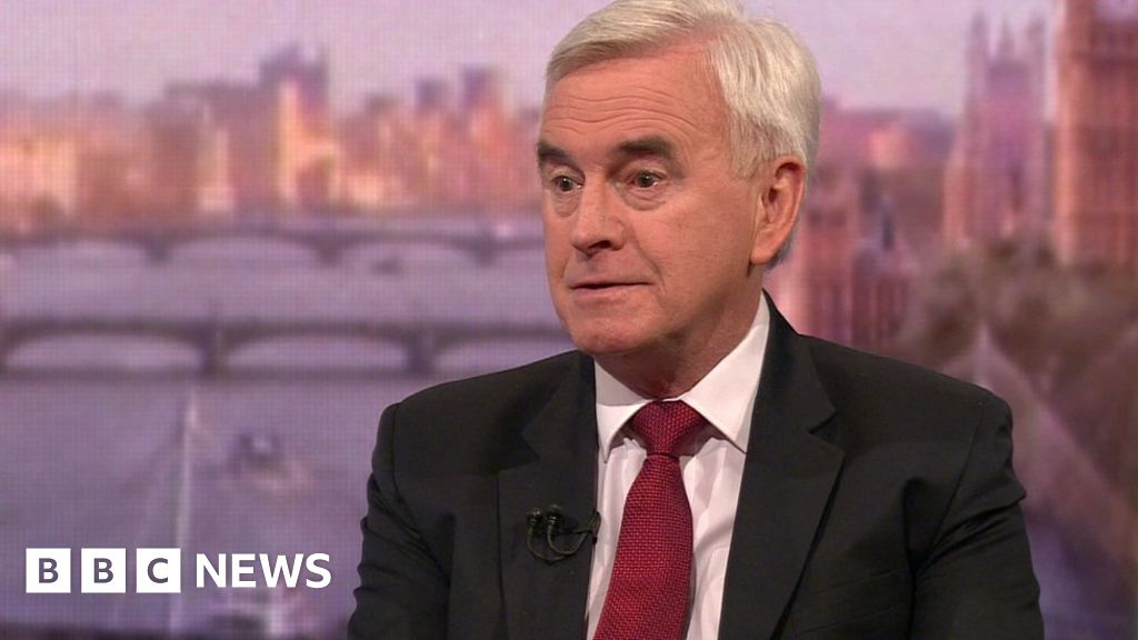 Labour party: John McDonnell  not recognize  faction fight to claim