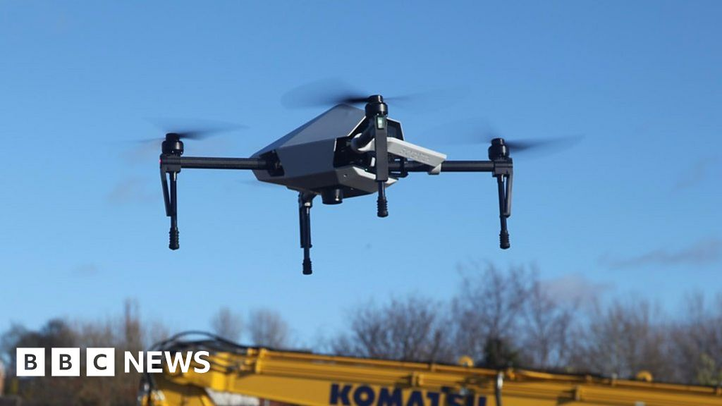 The Diggers Guided by Satellites and Drones