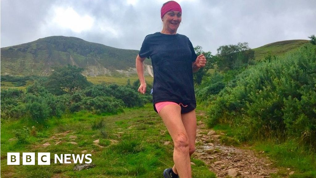 'I was paralysed but a year on I'm running a mountain marathon' thumbnail