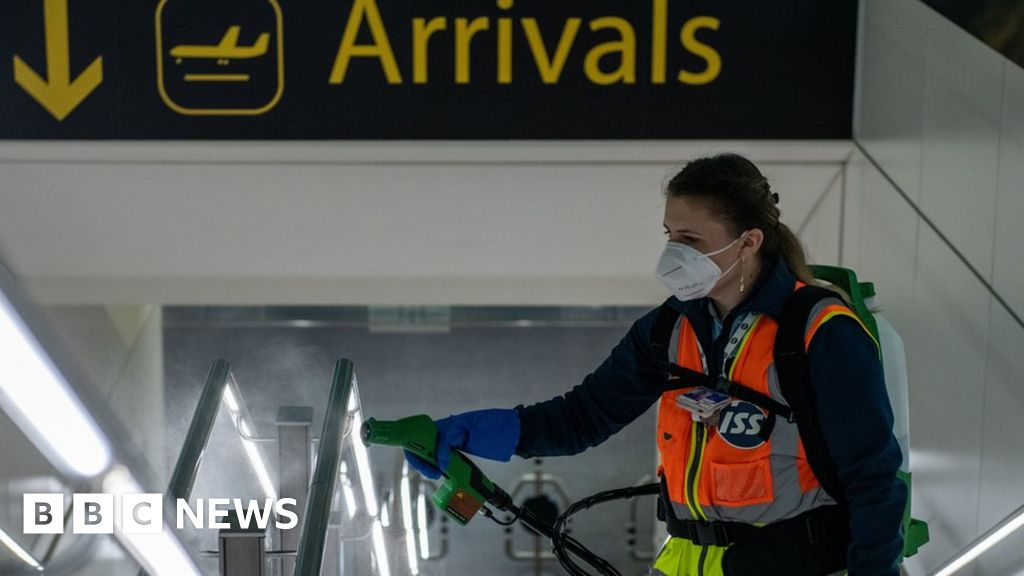 """Coronavirus: airport tests can provide, """"early travel quarantine-release"""
