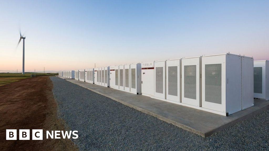 Tesla Mega Battery In Australia Activated Bbc News