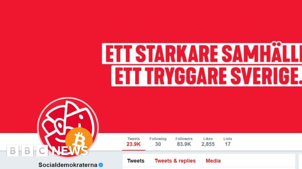 Swedish Social Democrats' Twitter account hacked - BBC News