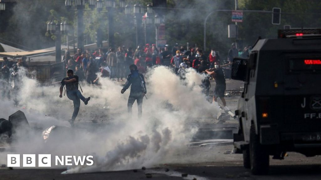 Chile protests: Fare increase suspended as unrest continues