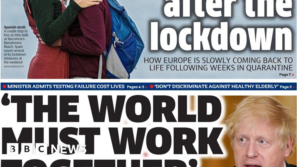 Headlines: Corona-Virus-vaccine race-and post-lockdown-the-job rules
