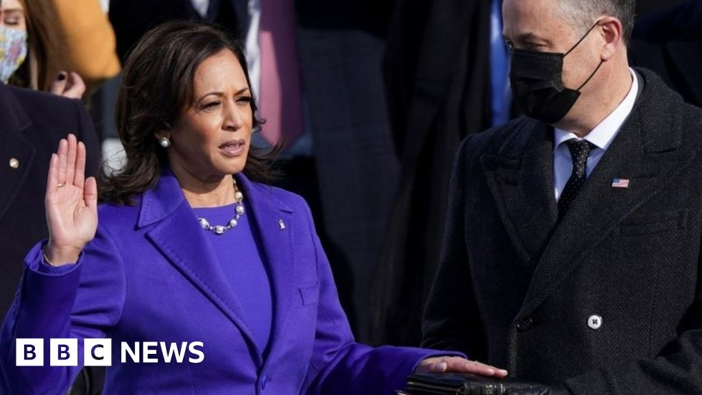 Kamala Harris becomes first female, first black and first Asian-American VP