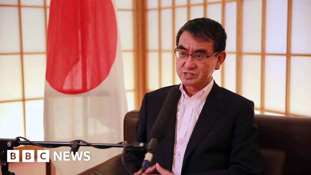 Japan foreign minister: 'No no-deal Brexit'