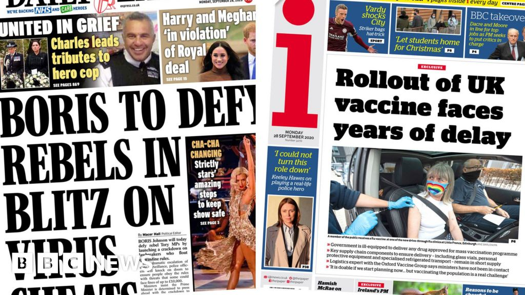 The Papers: Crackdown on isolation cheats, and vaccine warning
