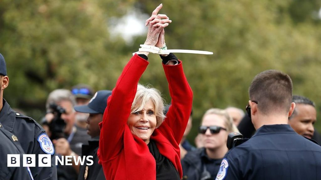 Jane Fonda: Who is the actor behind Fire Drill Fridays protests? thumbnail