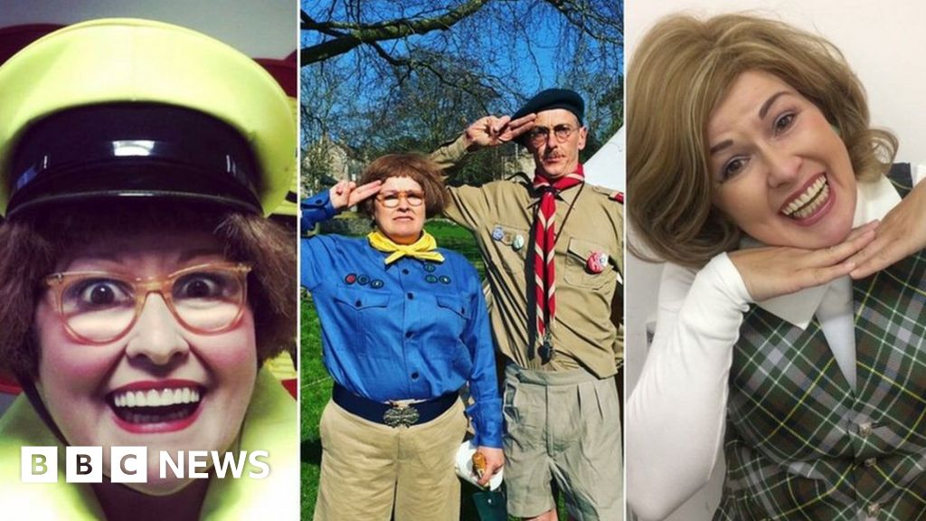 Fancy dress Friday is the latest fashion in Frome thumbnail