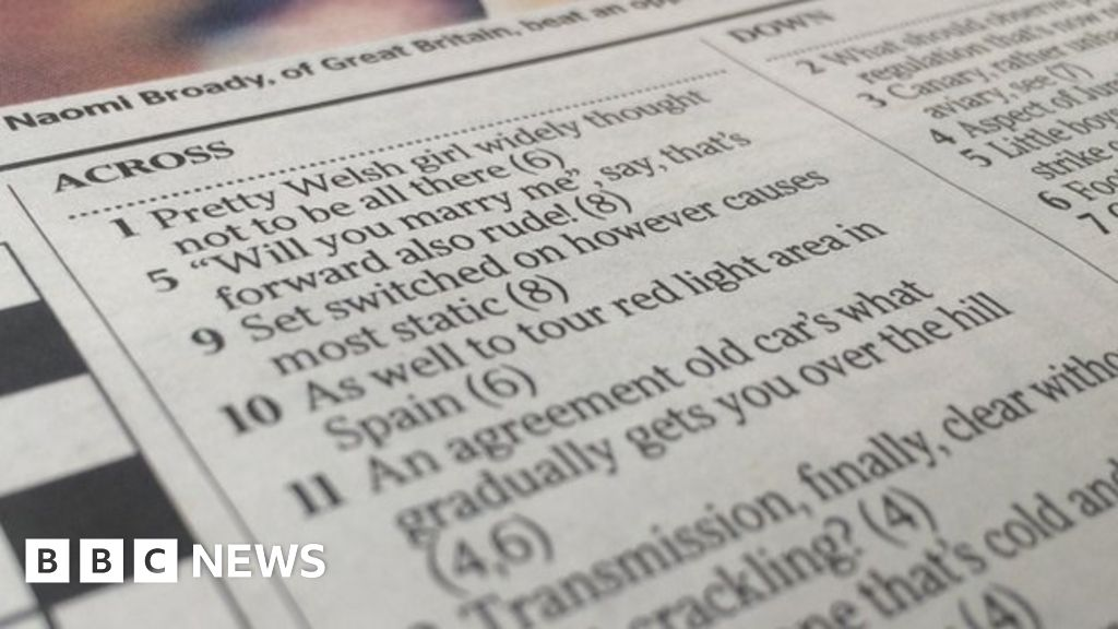 Bride To Be Says Yes To Times Crossword Proposal Bbc News