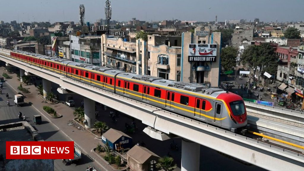 Pakistan's first metro line opens to passengers in Lahore