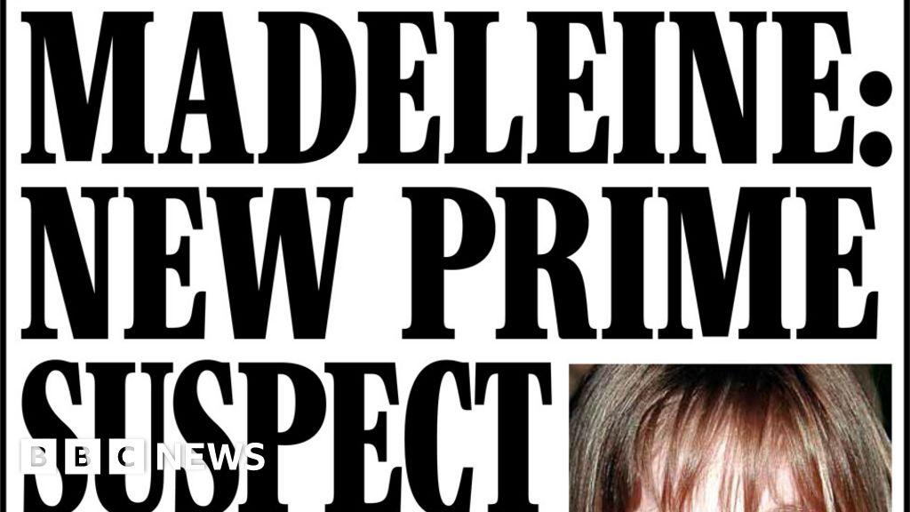 Headlines: New suspect in Madeleine McCann case  biggest break