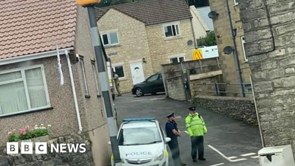 Man quizzed over offences under terror laws