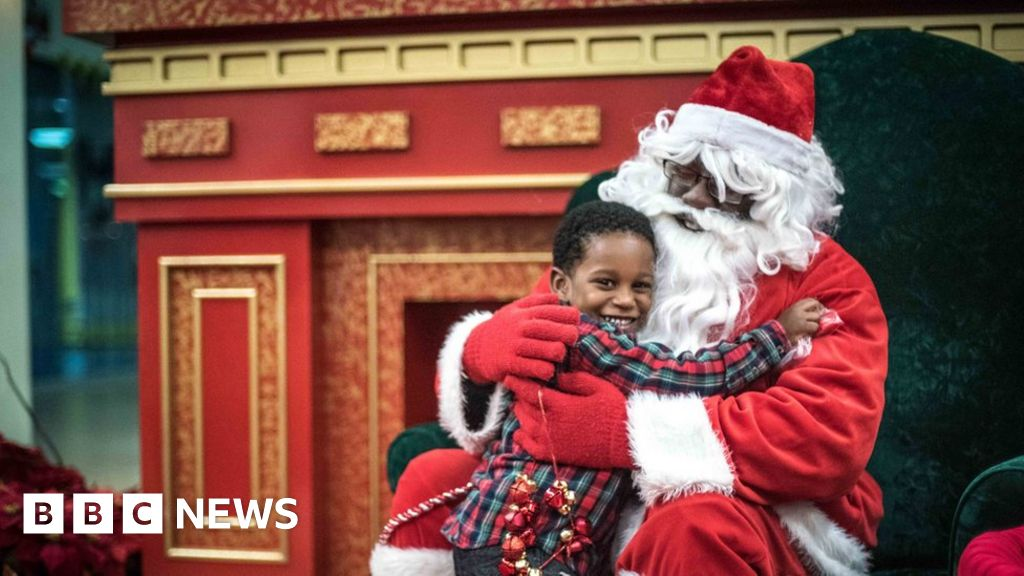The Secret History Of Black Santas Bbc News