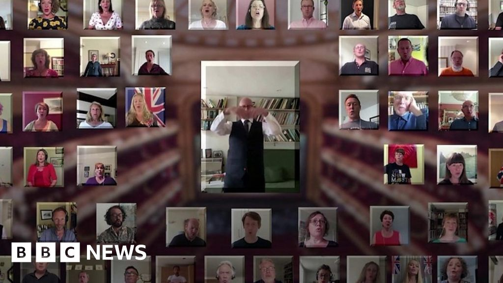 The Royal Opera House chorus combines online for Queen s official birthday