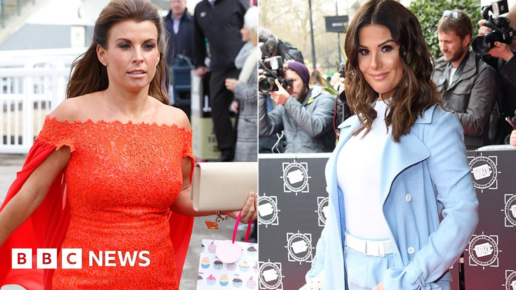 """Coleen Rooney and Rebecca Vardy in the line about """"leaked stories"""""""