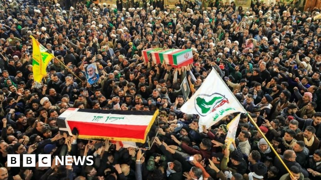 Iran attack: US airbases in Iraq hit by ballistic missiles