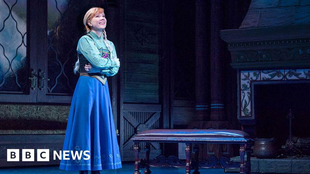 Frozen star misses Broadway show: 'Even Disney princesses get terrified'